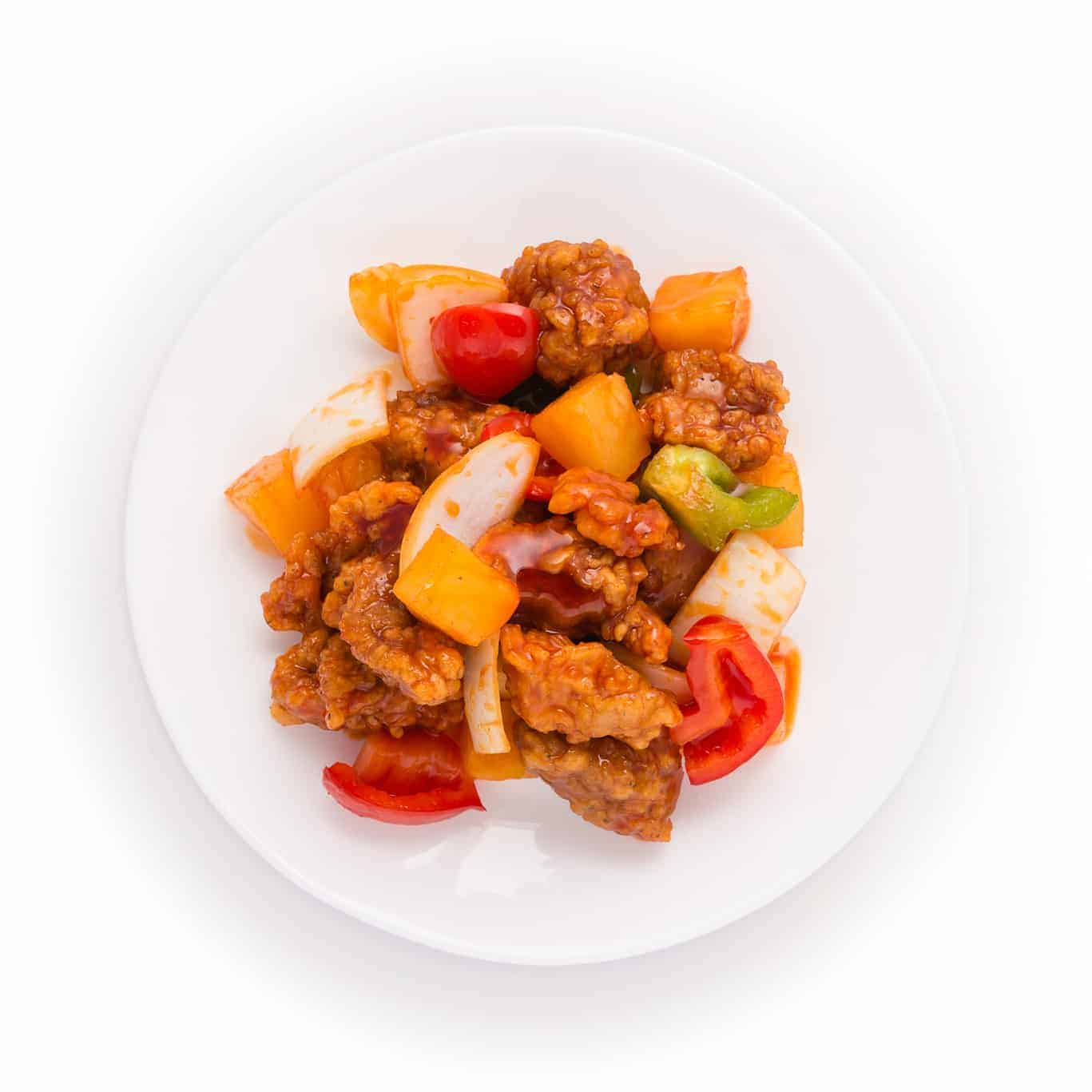 Sweet and Sour Pork Appetizer