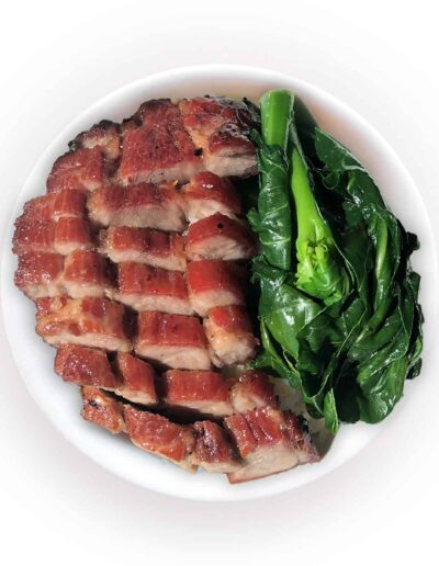 BBQ Pork Rice Bowl
