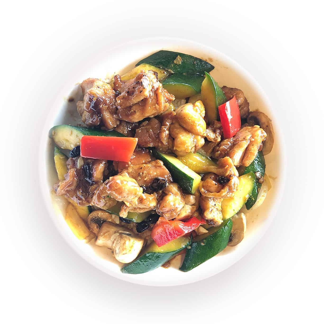 Black Bean Wok Chicken