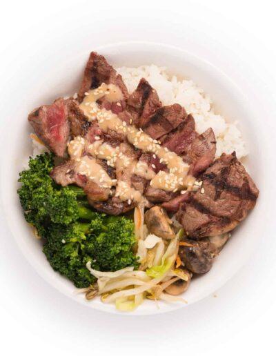 Japanese NY Steak Bowl