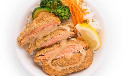 Japanese Salmon Bowl: A Delicious Panko Recipe You'll Love