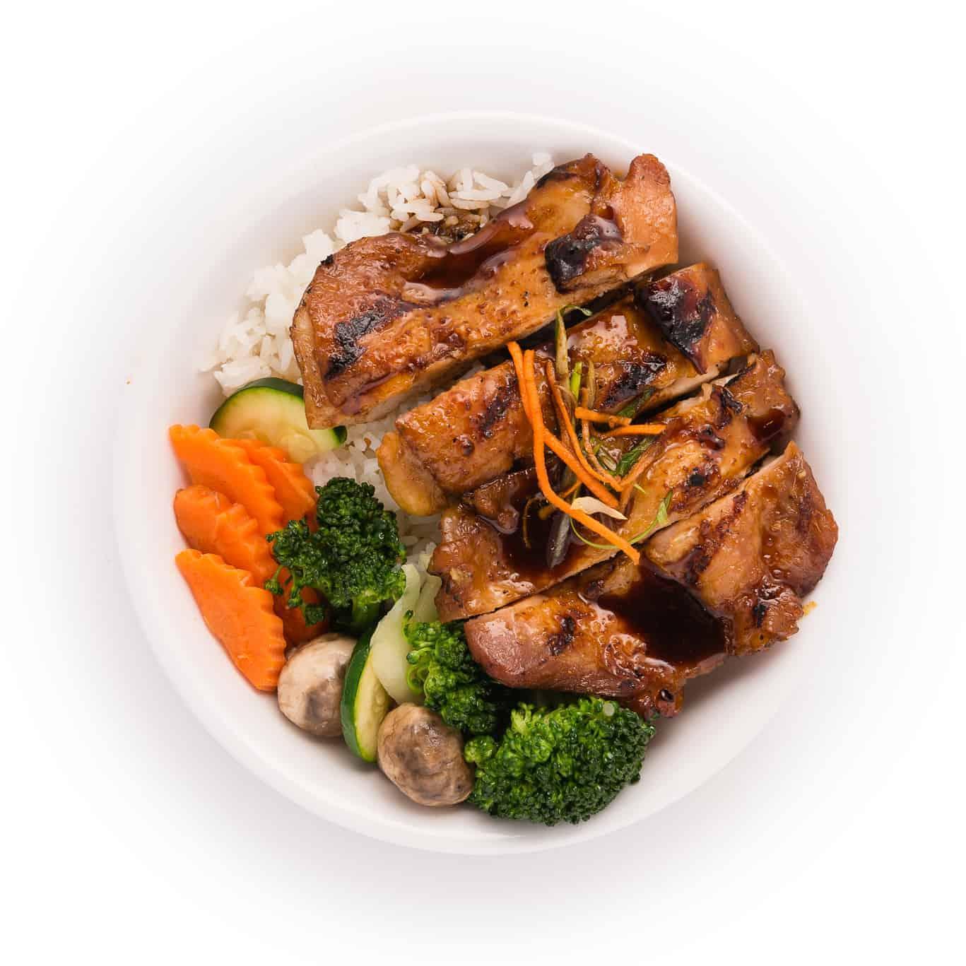 Korean BBQ Chicken Bowl