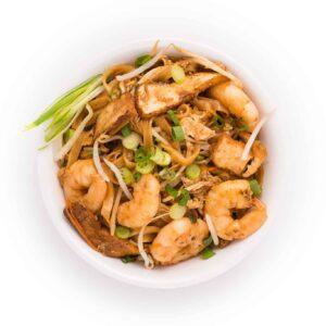 Pad Thai Noodle with Shrimp and Tofu