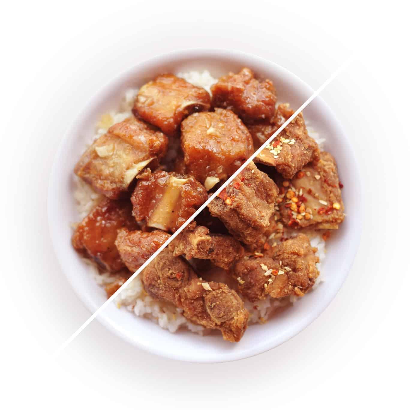 Filipino Pork Rib Bowl