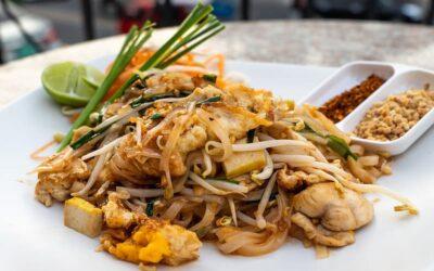 Thai Crispy Noodle Bowl