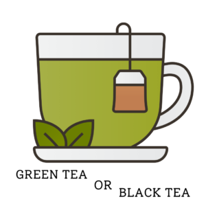 Green Tea or Black Tea for Bubble Tea Base
